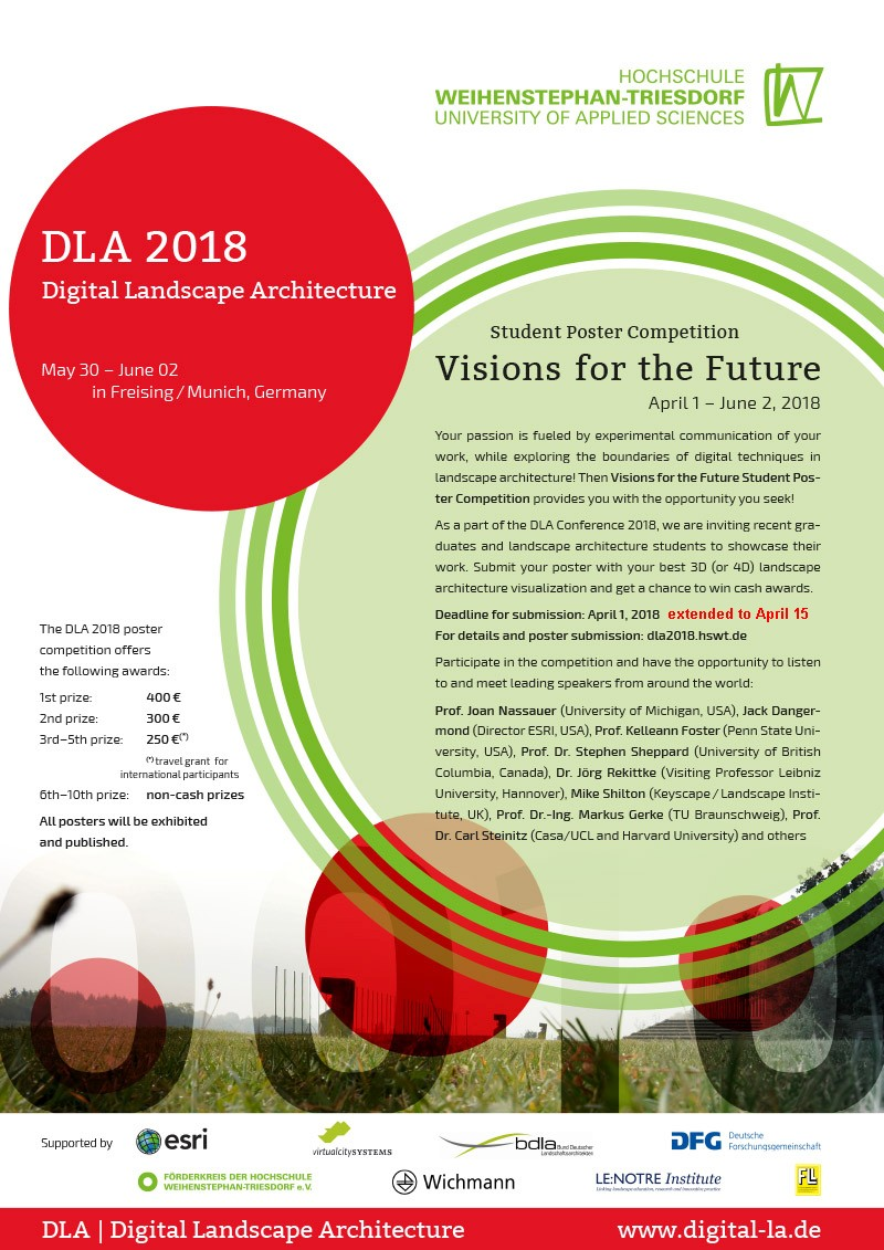Student Poster Competition - Visions for the Future