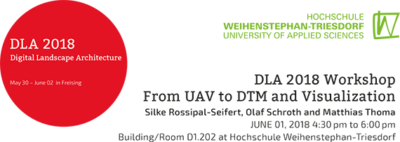 Workshop From UAV to DTM and Visualization